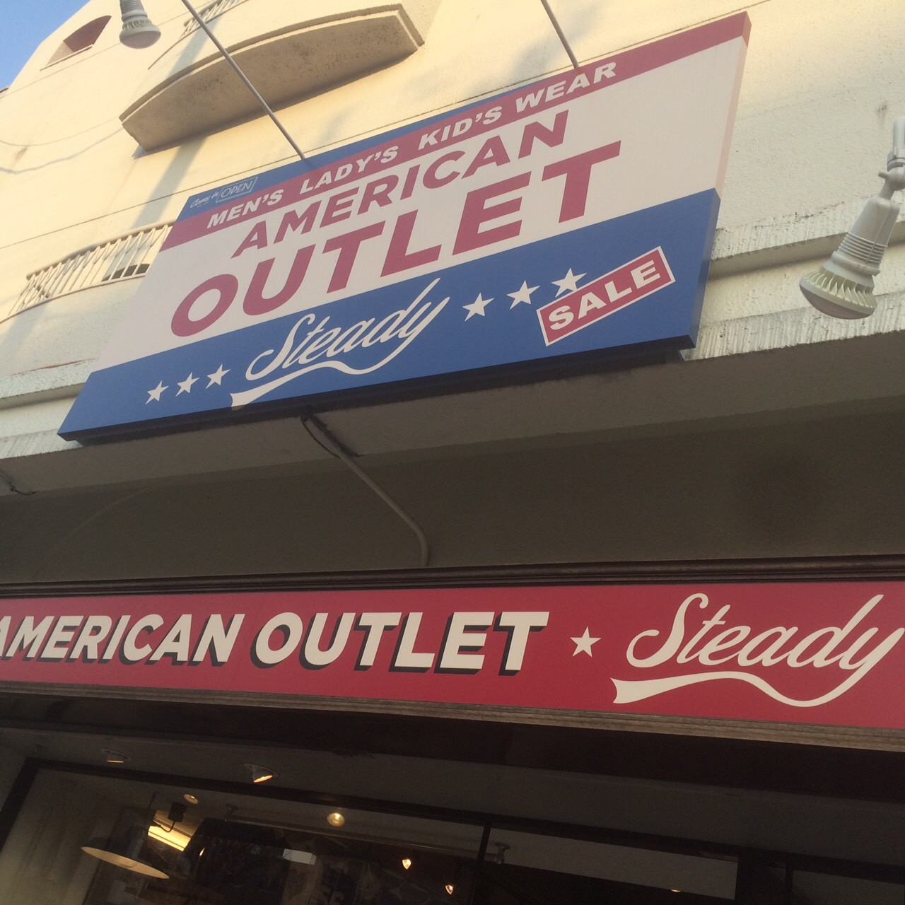 AMERICAN OUTLET Steady1