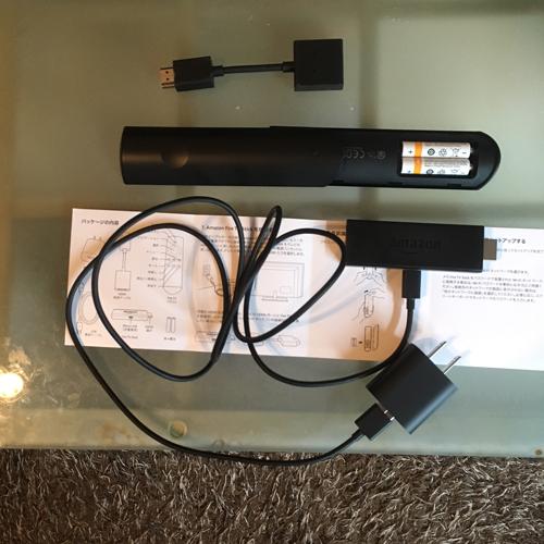 fireTVstickの接続