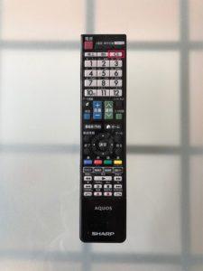 テレビのリモコンのCSボタン